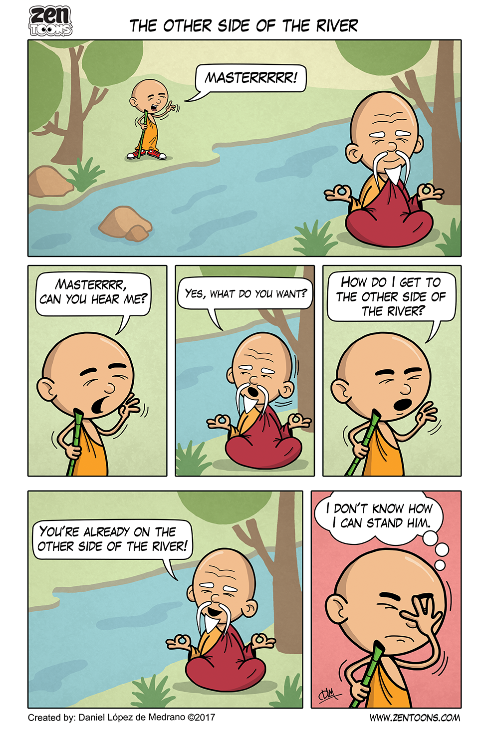 004. ZEN TOONS: The Other Side of the River.