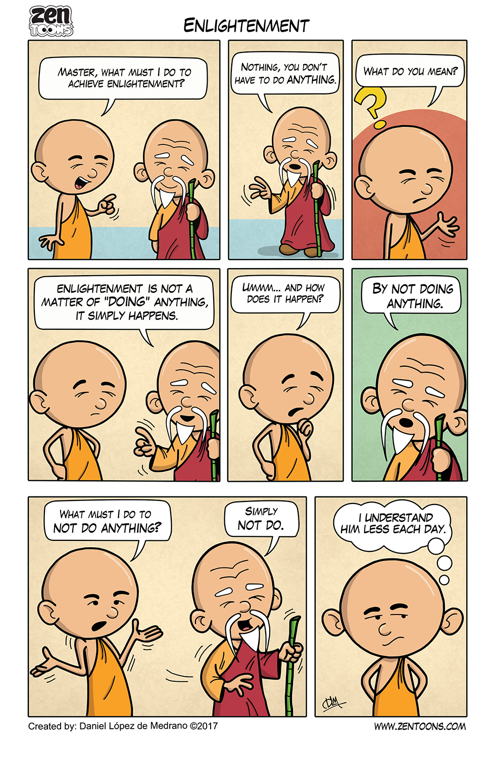 003. ZEN TOONS: Enlightenment
