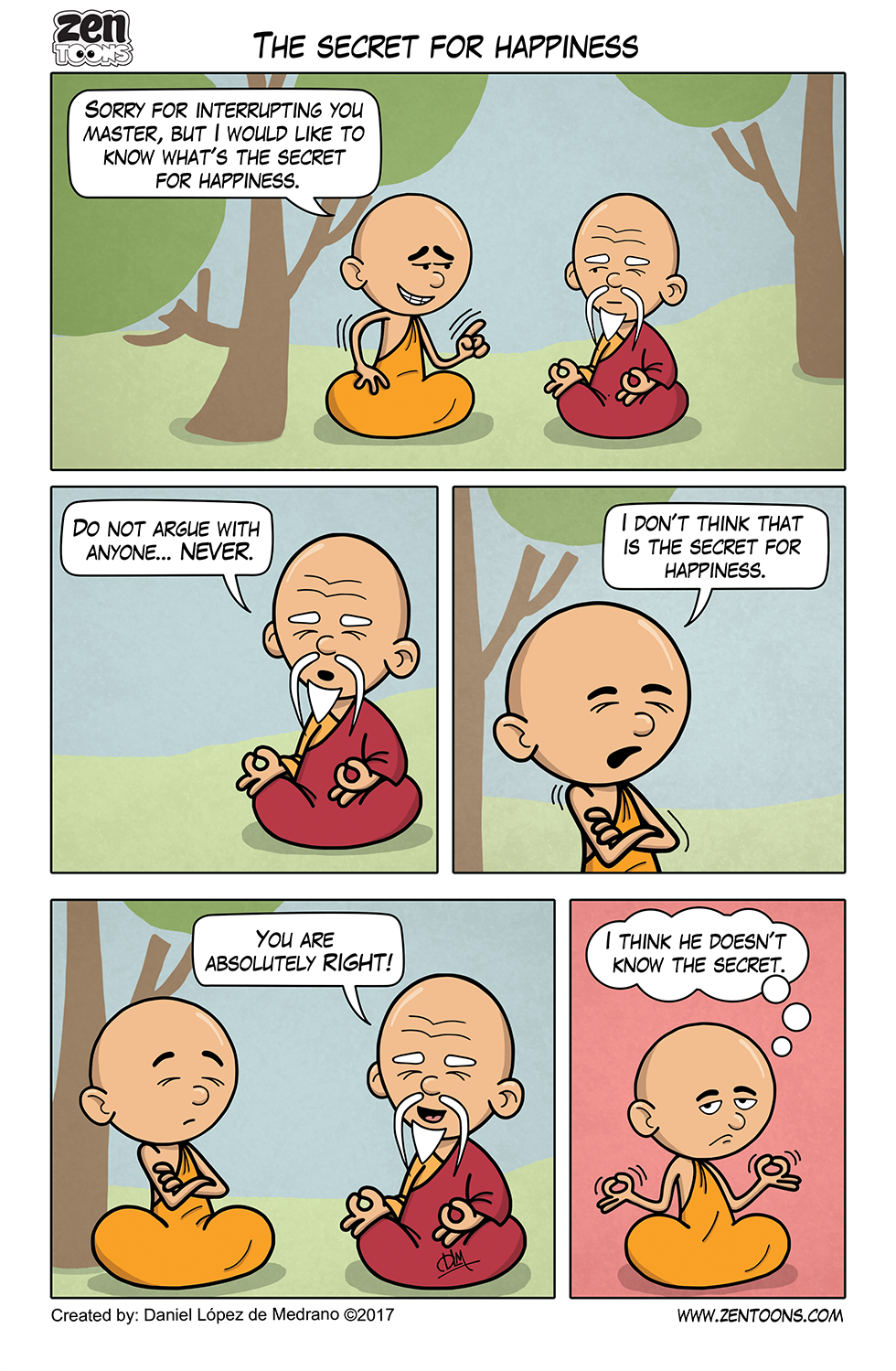 008. ZEN TOONS: The Secret for Happiness