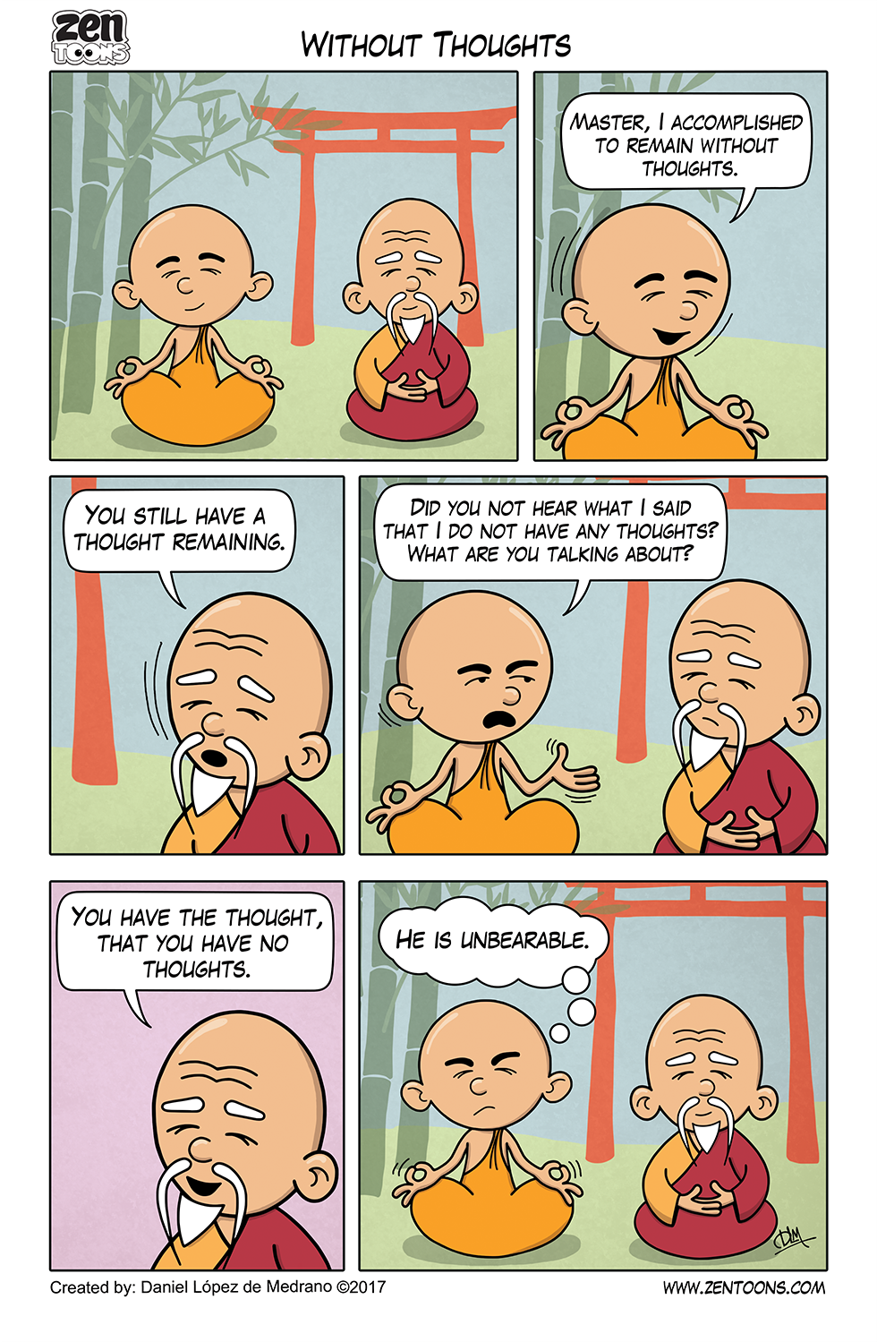 019. ZEN TOONS: Without Thoughts.